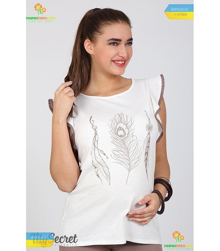 Блуза для беременных Жаклин Перышко.