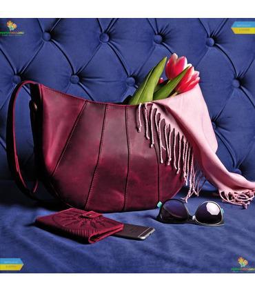 "Жіноча сумка ""Круасан""."