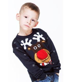 Светр для хлопчика Веселий Олень (мод.101)