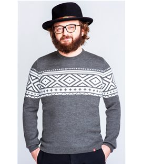 Мужской вязаный свитер (мод.60).