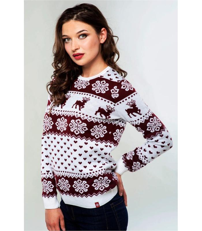 Жіночий в'язаний светр (мод.70).