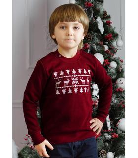 Детский свитшот Рождественский-1 мальчику мод.3.
