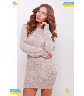 В'язана сукня-туніка мод.143