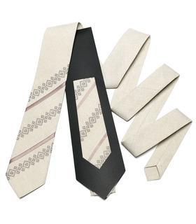 Вышитый галстук 759