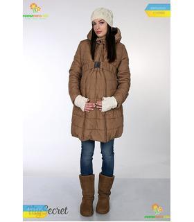 Очень теплое зимнее пальто Нева