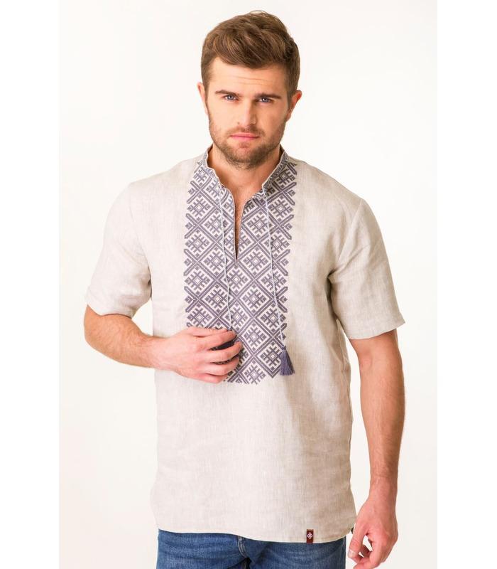 Чоловіча вишиванка (мод.7004), купити чоловічий одяг