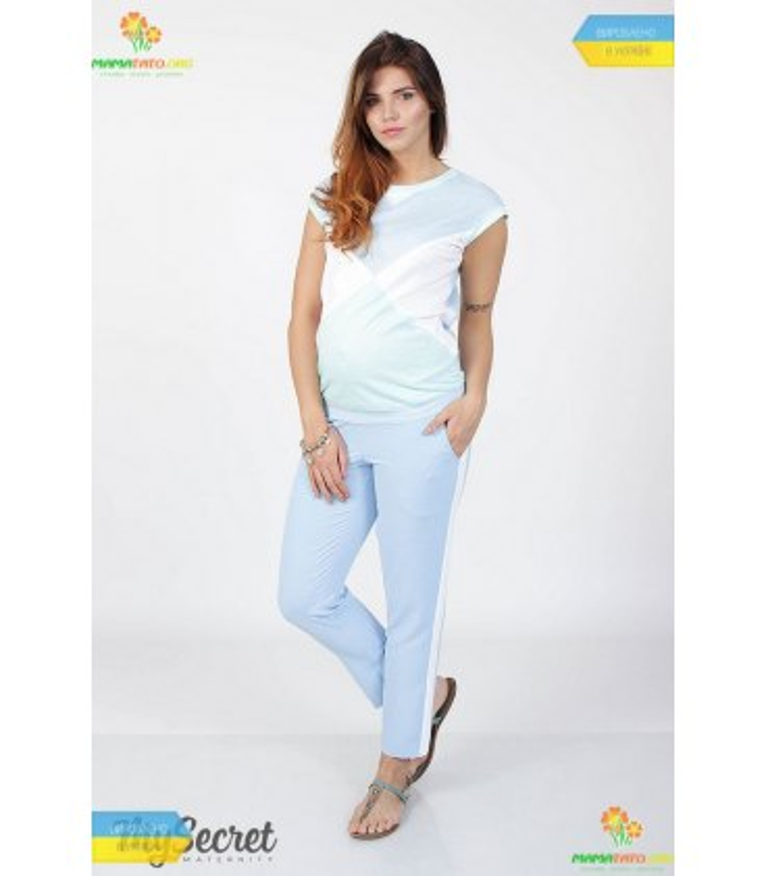 Штани Крайон лайт LB, літні штани для вагітних
