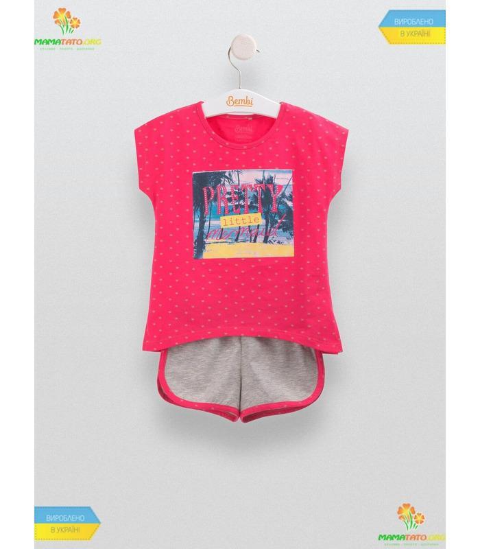Костюм Лілу (КС549) RB, дитячий літній костюмчик