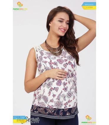 Блуза Ентоні, літня блуза для вагітних