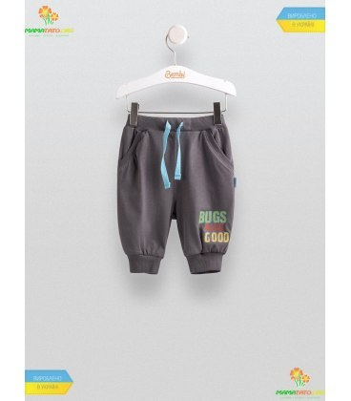 Бриджі для хлопчика ШР458 GR, літні дитячі штани