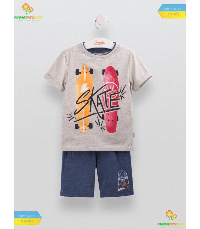 Костюм для мальчика КС543, детский летний костюм