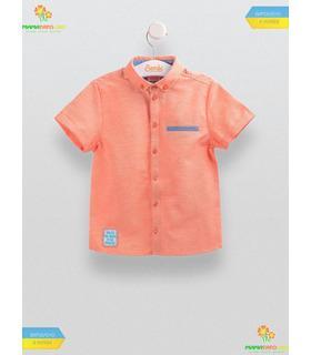 Рубашка для мальчика РБ85, детская одежда