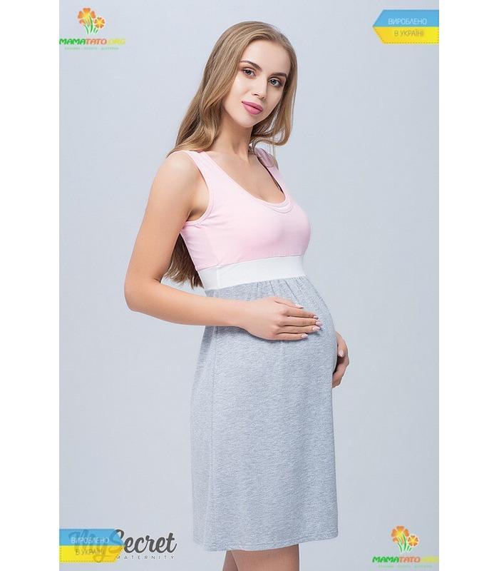 Нічна сорочка вагітним та годуючим Села NR