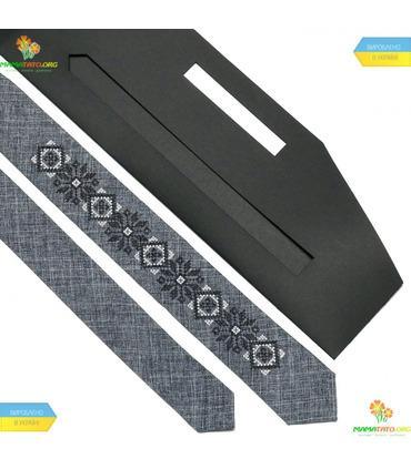 Вышитый узкий галстук (734.737.754)