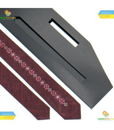 Вишита вузька краватка (760-764)