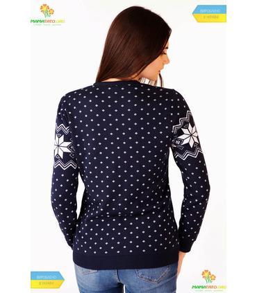 Жіночий в'язаний светр мод.6204