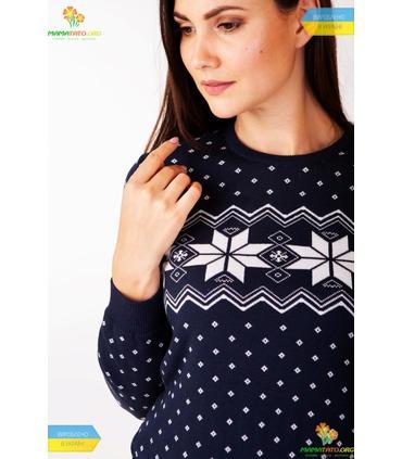 Женский вязаный свитер мод.6204