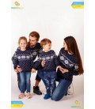 Мужской вязаный свитер мод.6205