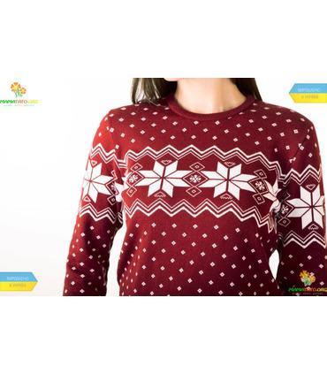 Женский вязаный свитер Алатыр BR мод.100