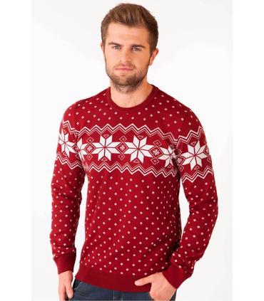 Мужской вязаный свитер Алатыр BR мод.96