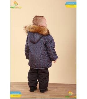 Дитячий зимовий костюм КС564 GR