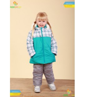 Дитячий зимовий костюм КС562 BI