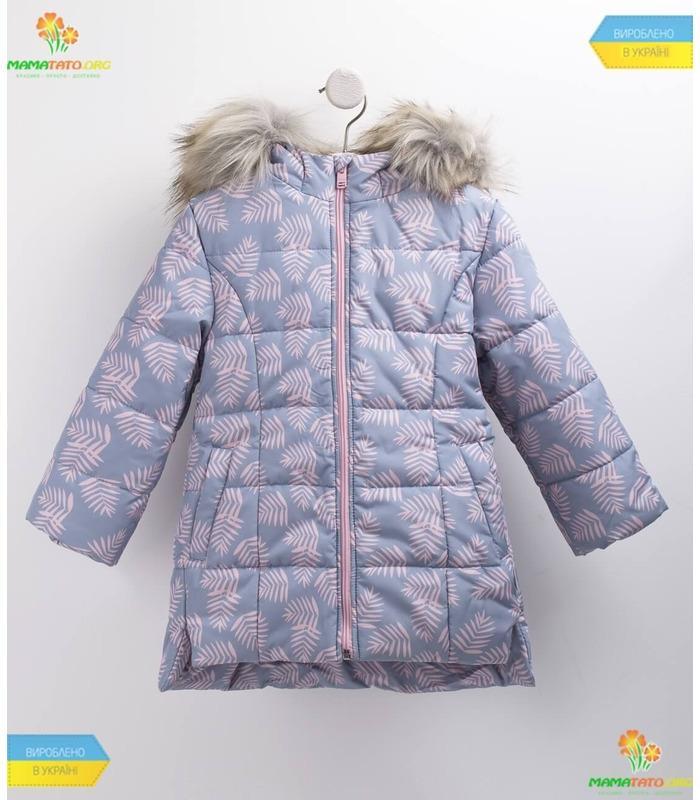 Дитяча зимова куртка КТ179 GR
