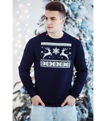 Мужской свитшот Рождественское Чудо мод.586