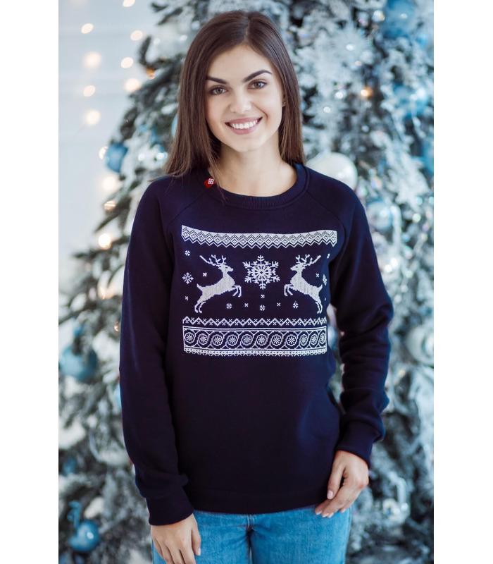 Женский свитшот Рождественское Чудо мод.585