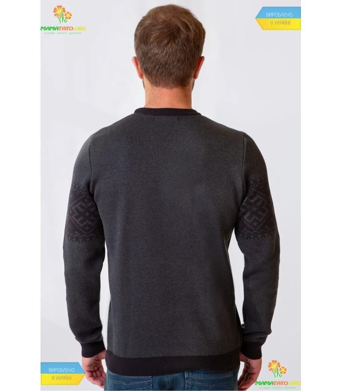 Вязаный свитер мод.95