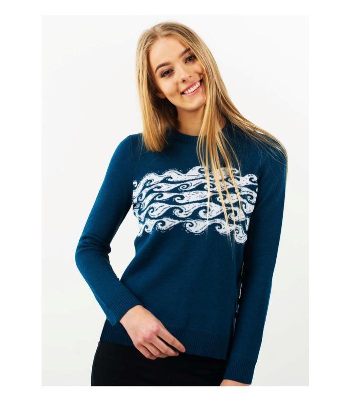 Вязаный свитер мод.06