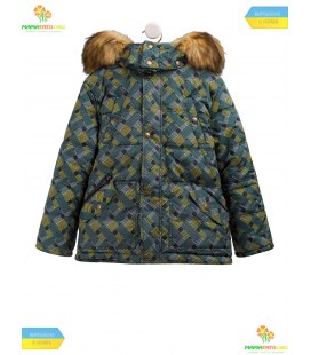 Дитяча зимова куртка КТ176 GR