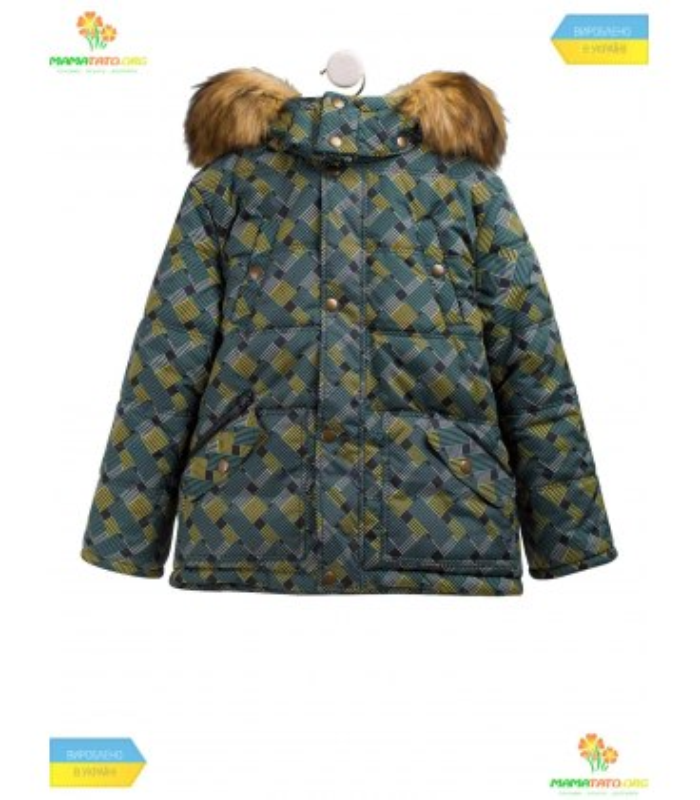 Детская зимняя куртка КТ176 GR