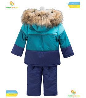 Дитячий зимовий костюм КС563 BI