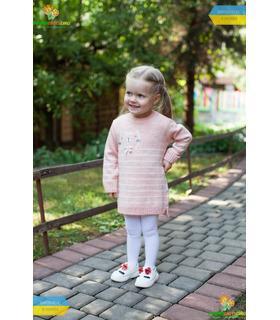 Вязаное детское платье ПЛ228