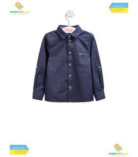 Детская теплая рубашка РБ95