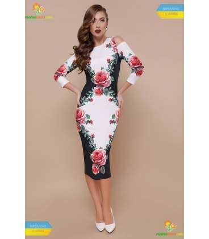 Платье Лила Розы