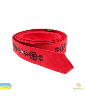 Вышитый тонкий галстук 827