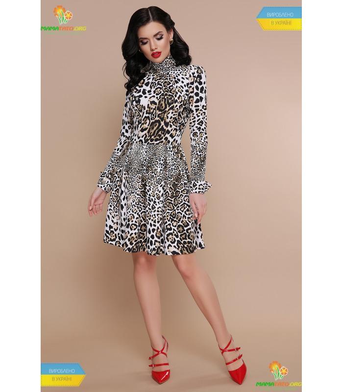 Платье Эльнара Леопард