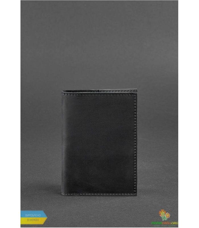 Обкладинка для паспорту 1.2 Графіт