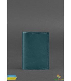Обкладинка для паспорту 1.2 Малахіт