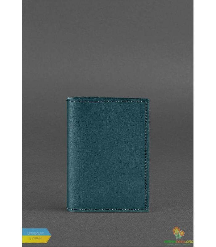 Обложка для паспорта 1.2 Малахит