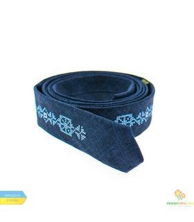 Вышитый тонкий галстук 830