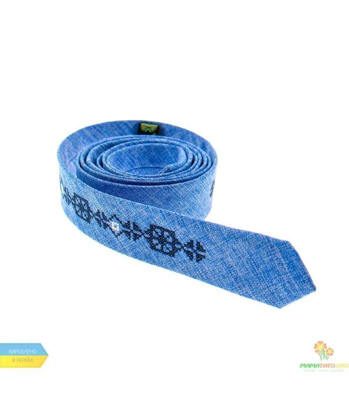 Вишита тонка краватка 831