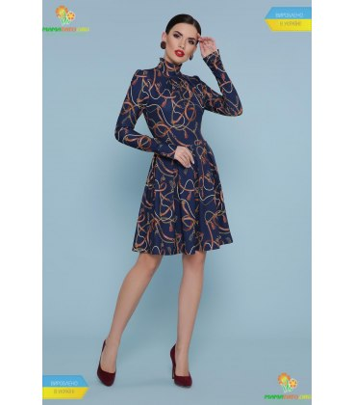 Платье Эльнара Ремешки-цепочки