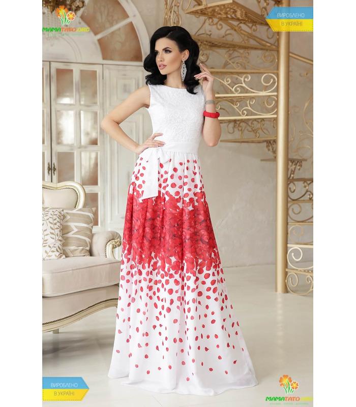 Платье Анисья Красные Лепестки