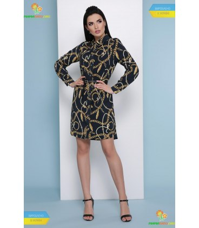 Платье Аврора Перья-цепи