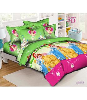 """Комплект постельного белья """"Принцессы Диснея"""" ᐉ ранфорс, Украина, цена, размер на выбор"""