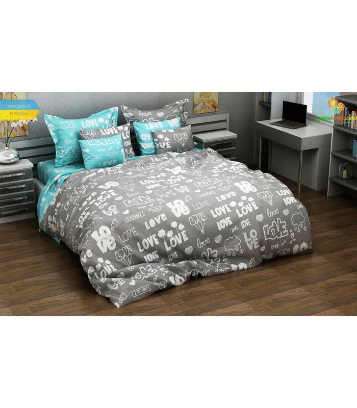 Комплект постельного белья Лавли ᐉ бязь, Украина, цена, натуральная ткань