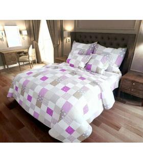 Комплект постільної білизни Печворк RS ᐉ бязь, Україна, ціна, натуральна тканина
